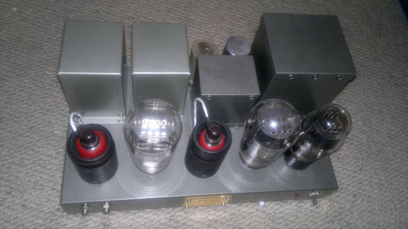 Kurashima PX4 amp with rewound Western Electric transformers