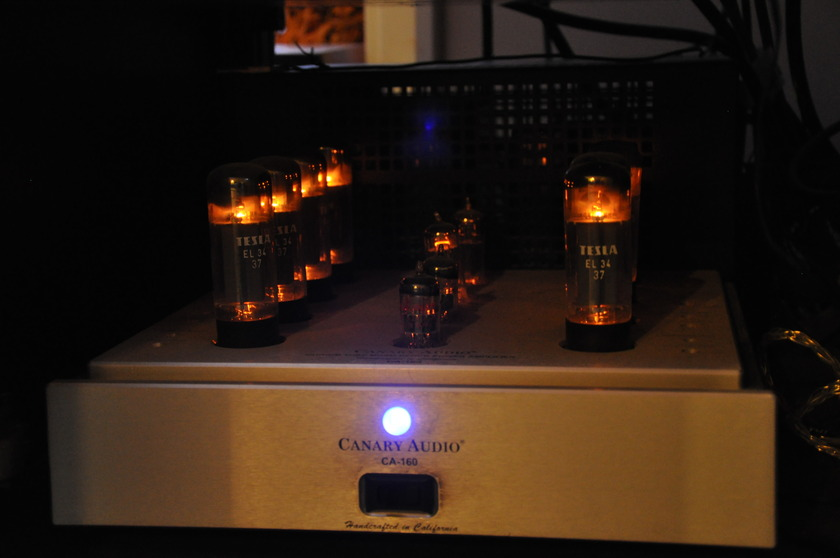 Canary Audio 160 New Golden Lion Tubes