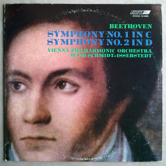 London ffrr/Schmidt-Isserstedt/Beethoven - Symphonies Nos. 1 & 2 / NM