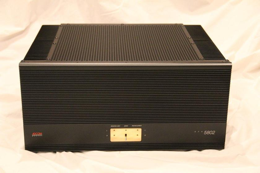 Adcom MCA 5802 Power Amplifier Nelson Pass Design one of the finest!