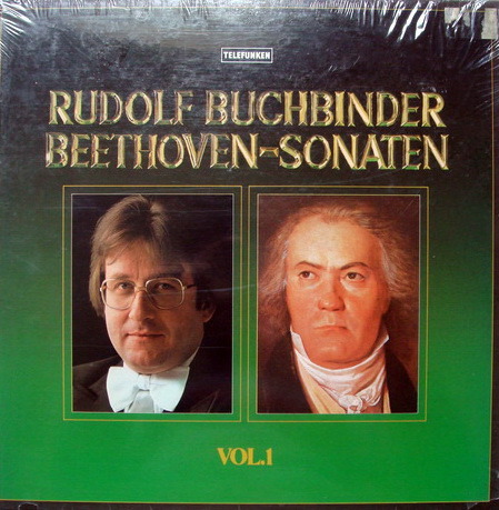 ★Sealed★ Telefunken / BUCHBINDER, - Beethoven Piano Sonatas, 3LP Box Set!