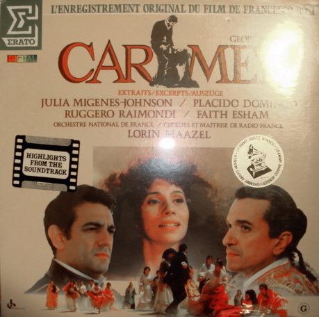 ★Sealed★ Erato / MAAZEL-DOMINGO, - Bizet Carmen, 2LP Set!