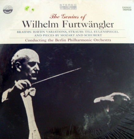 ★Sealed★ Everest /  - FURTWANGLER, Brahms Haydn Variations!