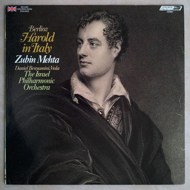 London ffrr/Mehta/Berlioz - Harold in Italy / NM