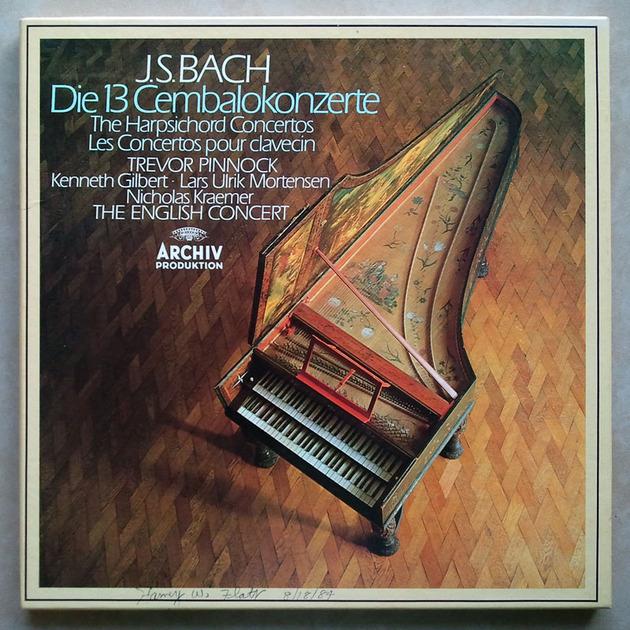 Archiv/Pinnock/Bach - The 13 Harpsichord Concertos / NM