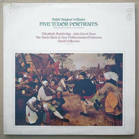 Angel/Vaughan Williams - Five Tudor Portraits EX