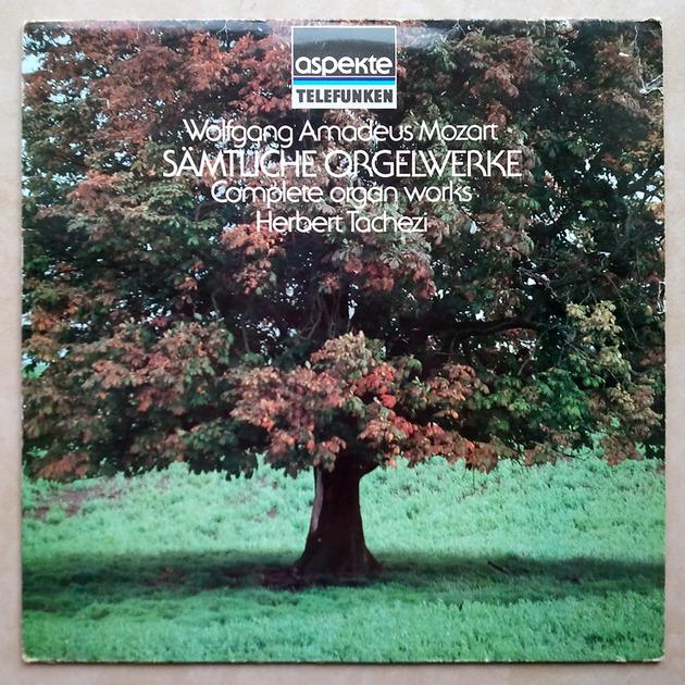 Teldec/Herbert Tachezi/Mozart - Complete organ works / EX