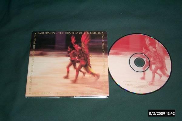 Paul simon - The Rhythm Of The saints with bonus tracks nm