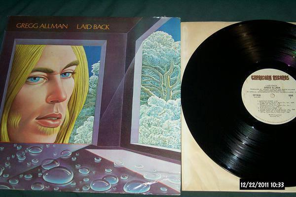 Gregg Allman - Laid Back gatefold cover lp nm