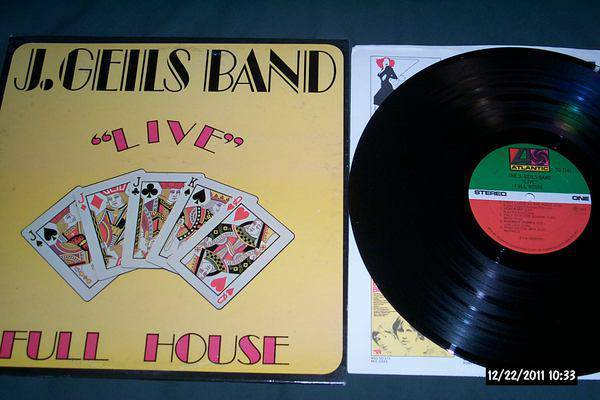 J. Geils Band - Live Full House sd 7241 lp nm