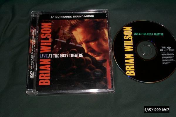 Brian Wilson - Live At The Roxy dvd audio 5.1 surround