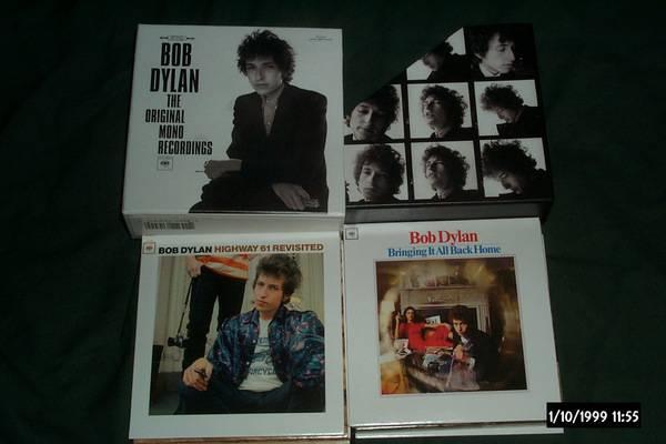 Bob dylan - The Original Mono recordings cd set