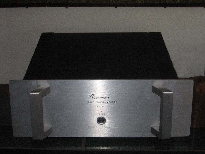 Vincent Hybrid power amp SP-331 hybrid power amp Hybrid - 150wpc FIRE SALE!!