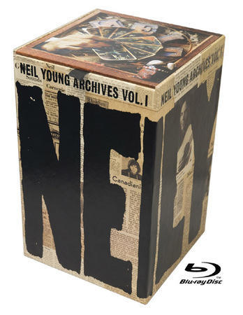 Neil young - Archives Vol 1 blu ray box set nm