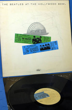 """THE BEATLES - - """"At The Hollywood Bowl"""" - Capitol 1977 original release"""