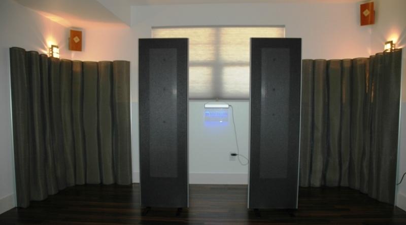 Magnepan 1.7 w/ Matching Corner Traps or Diffuser Screens