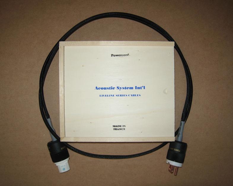 ASI Liveline Power Chord 1.8 meter