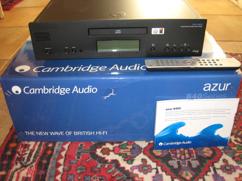 Cambridge Audio Azur 840C Back Finish