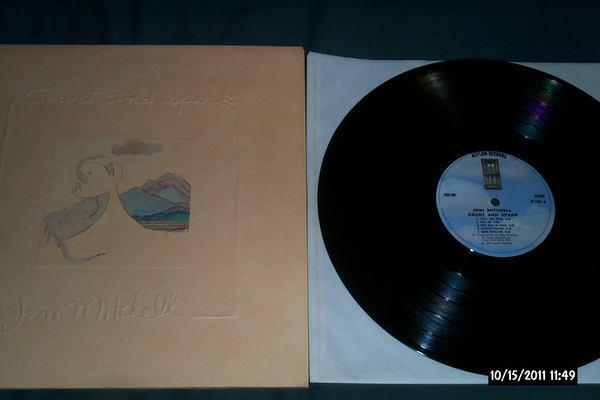Joni Mitchell - Court And Spark lp nm first pressing