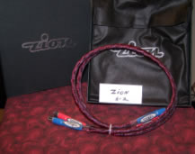Zion S-2 Interconnects  1 meter rca --silver