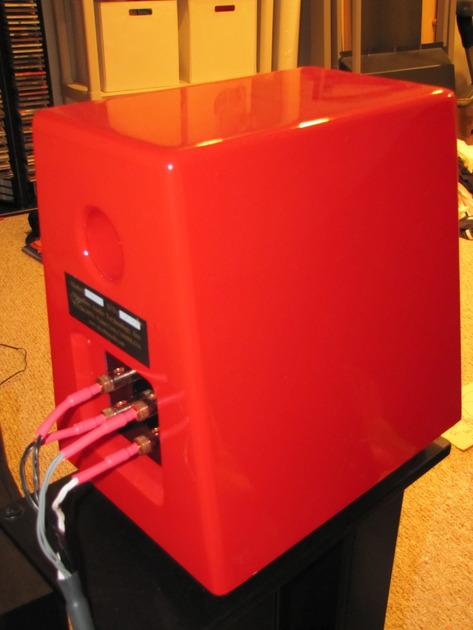 Silverline SR11 Red with Upgraded ScanSpeak Tweeters!