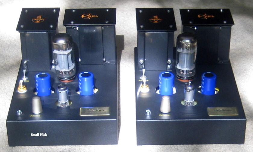 JohnBlue Audio Art TL66 Tube Mono Block Amps