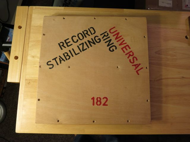 Universal Record Stabilizing Ring (URSR)