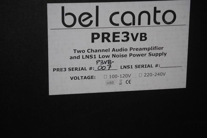 BEL CANTO PRE 3 VB PREAMPLIFIER
