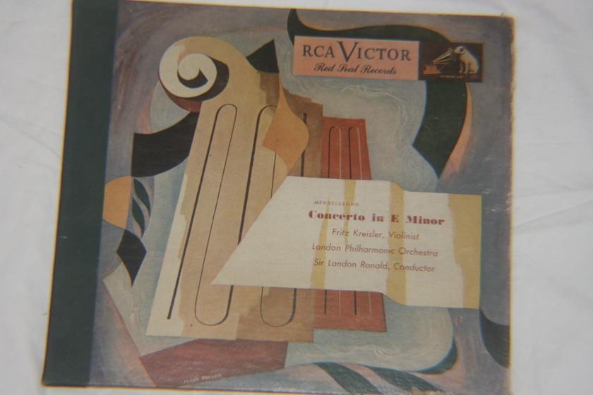 Mendelssohn - Concerto in E Minor Op. 64 RCA Victor DM 277