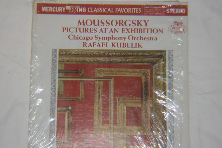 Rafael Kubelik - Moussorgsky Pictures At An Exhibition Stereo SRW 18028
