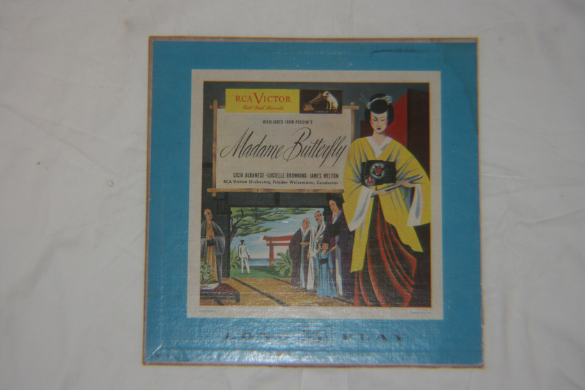 Frieder Weissmann - Puccini Highlights from Madame Butterfly RCA Victor LM-2