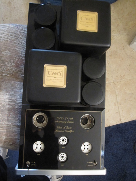 Cary CAD 211 AE Mono amps all tubes included
