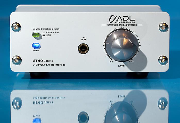 Furutech GT40 Preamp/DAC/Headphone amp