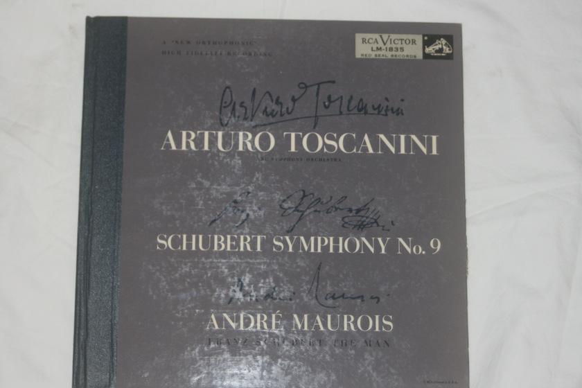 Arturo Toscanini - Schubert Symphony No. 9 RCA Victor LM-1835