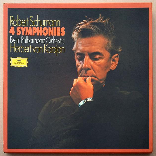 DG/Karajan/Schumann - 4 Symphonies / 3-LP box set / NM