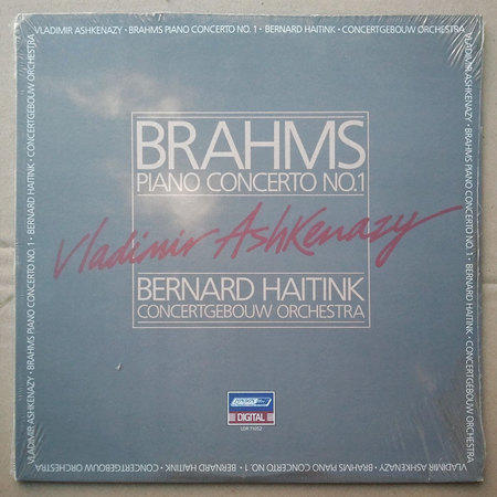 Sealed/London/Ashkenazy/Brahms - Piano Concerto No.1