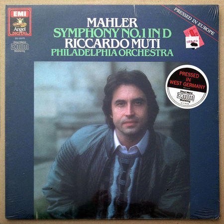 Sealed/EMI/Riccardo Muti/Mahler - Symphony No.1 / Pressed in Germany