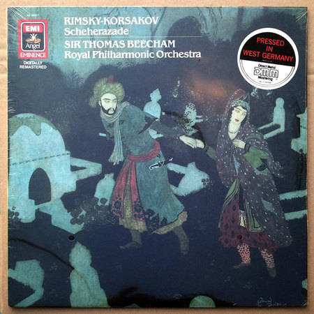 Sealed/Emi/Beecham/ - Rimsky-Korsakov Scheherazade / Pressed in Germany