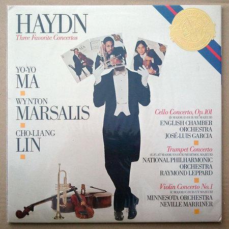Sealed/CBS/Haydn Cello, Trumpet, - Violin Concertos/ Yo-Yo Ma, Wynton Marsalis, Cho-Liang Lin