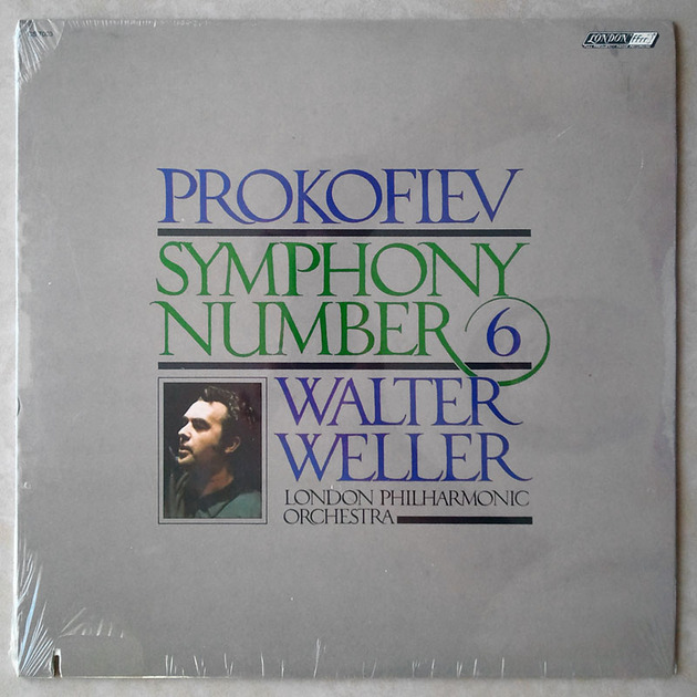 Sealed/London ffrr/Walter Weller/Prokofiev - Symphony No.6