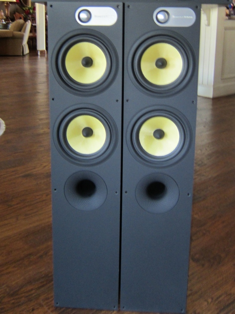 B&W 684 & HTM61B High End Full Range Speakers