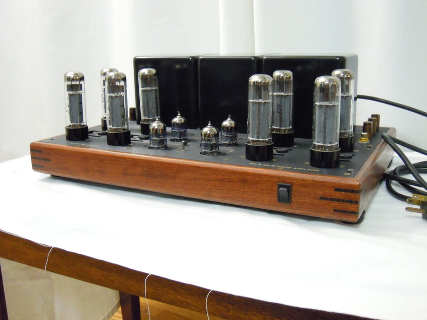 Music Reference RM9MkII 125WPC Stereo EL34 Tube Amplifier