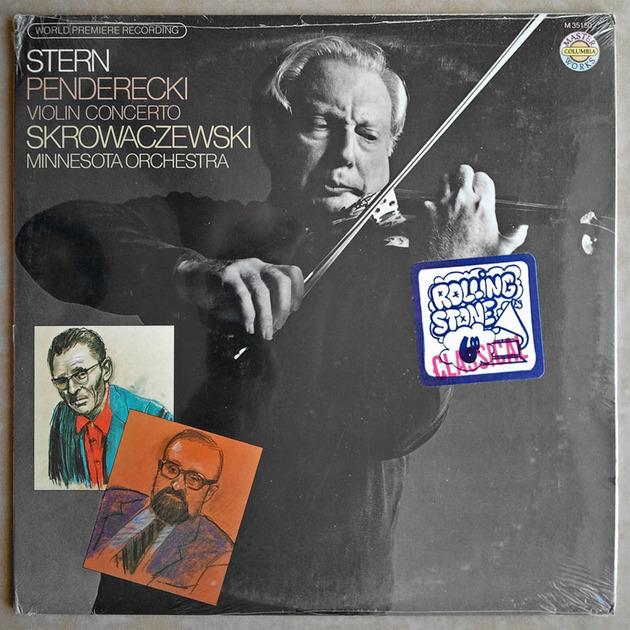 Sealed/Columbia/Stern/Penderecki - Violin Concerto (World Premiere Recording)