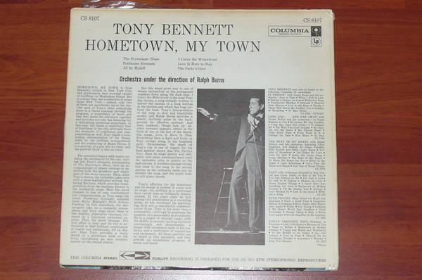 Tony Bennett - Hometown, My Town columbia 6 eye