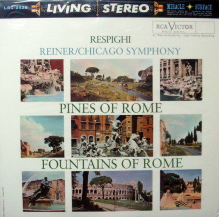 ★Sealed Audiophile 180g★ RCA-Classic Records / - REINER, Respighi Pines-Fountains of Rome!