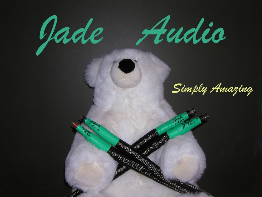 Jade Audio Hybrid Gold RCA or XLR Interconnect Cables