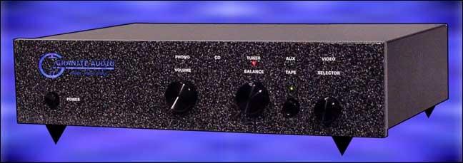Granite Audio 770-R tube line stage with tube phono pre