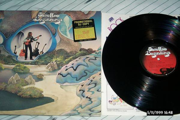 Steve howe - Beginnings lp nm