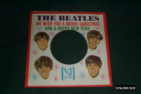Beatles - We Wish You A merry christmas sleeve only rare