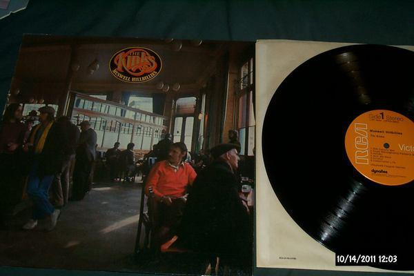 The kinks - Muswell Hillbillies first pressing lp nm